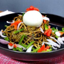 Recette de Spaghetti au moringa