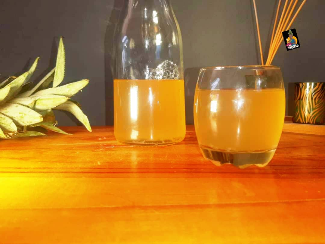 Infusion d'ananas